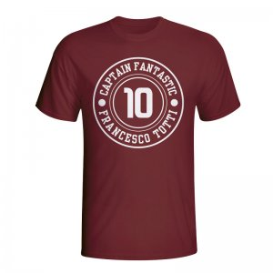 Francesco Totti Roma Captain Fantastic T-shirt (maroon) - Kids