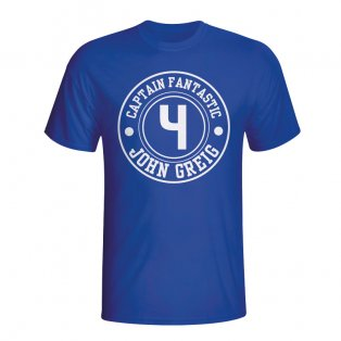 John Greig Rangers Captain Fantastic T-shirt (blue) - Kids