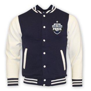 Psg College Baseball Jacket (navy)