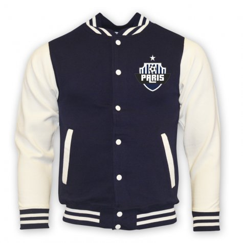 Psg College Baseball Jacket (navy)
