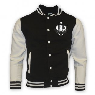 Juventus College Baseball Jacket (black) - Kids