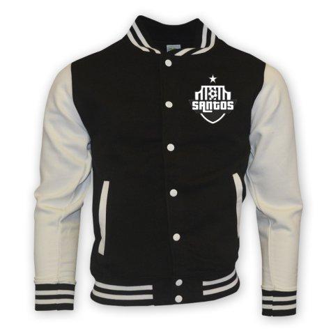 Santos College Baseball Jacket (black)