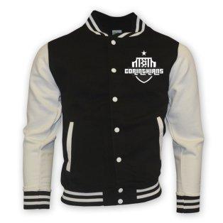 Corinthians College Baseball Jacket (black)