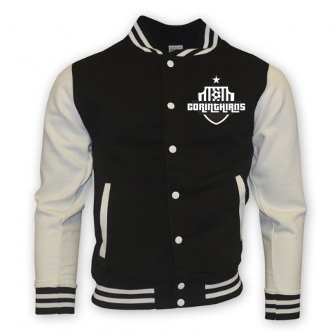 Corinthians College Baseball Jacket (black) - Kids
