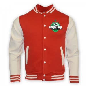 Portugal College Baseball Jacket (red) - Kids