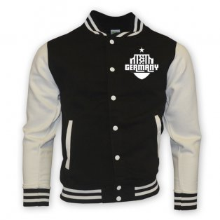 Germany College Baseball Jacket (black)