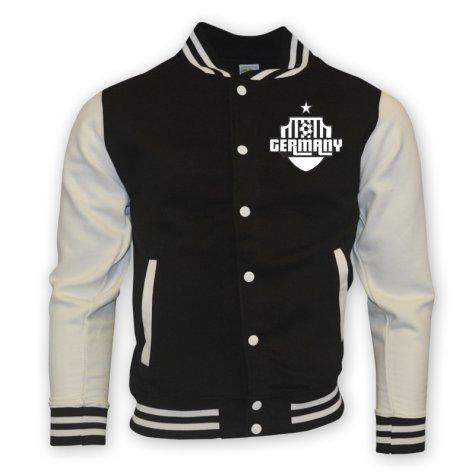 Germany College Baseball Jacket (black)