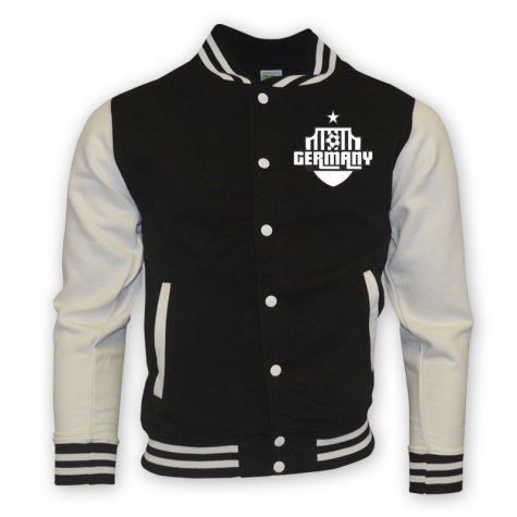 Germany College Baseball Jacket (black) - Kids