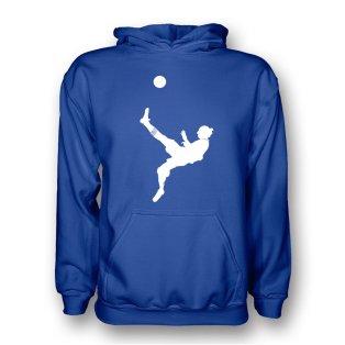 Zlatan Ibrahimovic Bicycle Kick Hoody (blue) - Kids