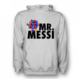 Lionel Messi Mr Messi Hoody (white)