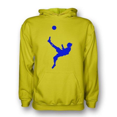 Zlatan Ibrahimovic Bicycle Kick Hoody (yellow)