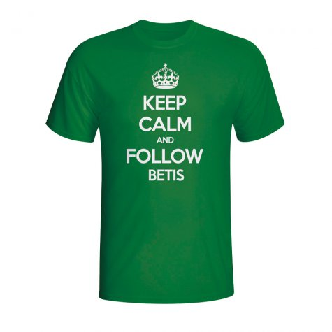 Keep Calm And Follow Real Betis T-shirt (green)