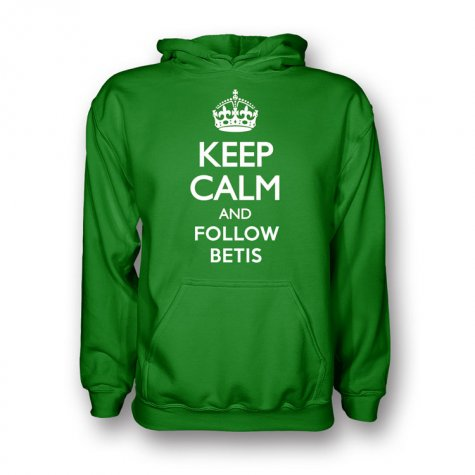 Keep Calm And Follow Real Betis Hoody (green)