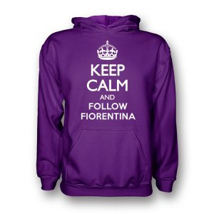 Keep Calm And Follow Anderlecht Hoody (purple) - Kids