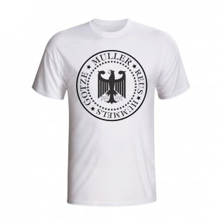 Germany Presidential T-shirt (white) - Kids