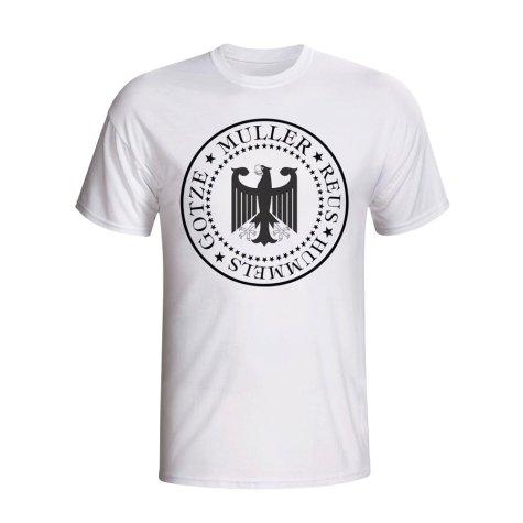 Germany Presidential T-shirt (white) - Kids