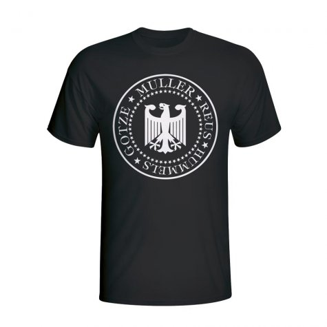 Germany Presidential T-shirt (black)