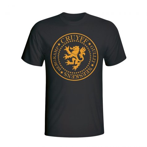Holland Presidential T-shirt (black) - Kids