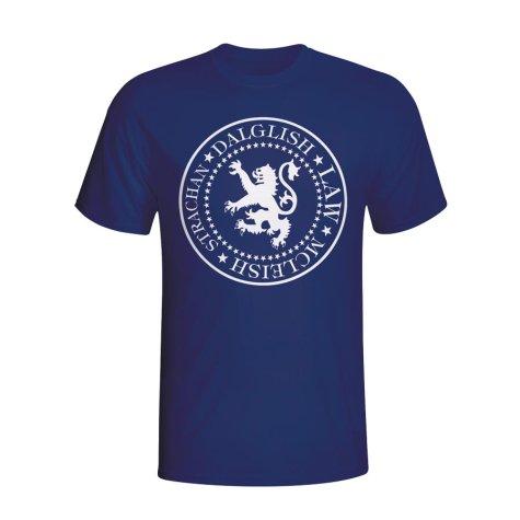 Scotland Presidential T-shirt (navy) - Kids