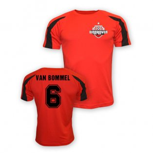 Mark Van Bommel Psv Eindhoven Sports Training Jersey (red) - Kids