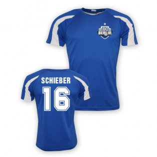 Julian Schieber Hertha Berlin Sports Training Jersey (blue) - Kids