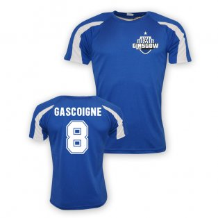 Paul Gascoigne Rangers Sports Training Jersey (blue) - Kids