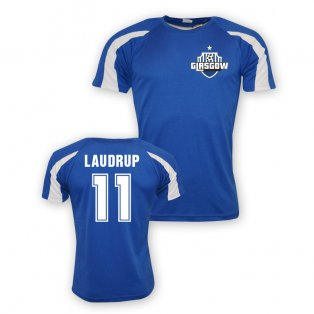 Brian Laudrup Rangers Sports Training Jersey (blue) - Kids