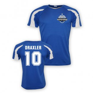 Julian Draxler Schalke Sports Training Jersey (blue) - Kids