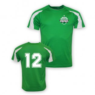 12 Werder Bremen Sports Training Jersey (green) - Kids