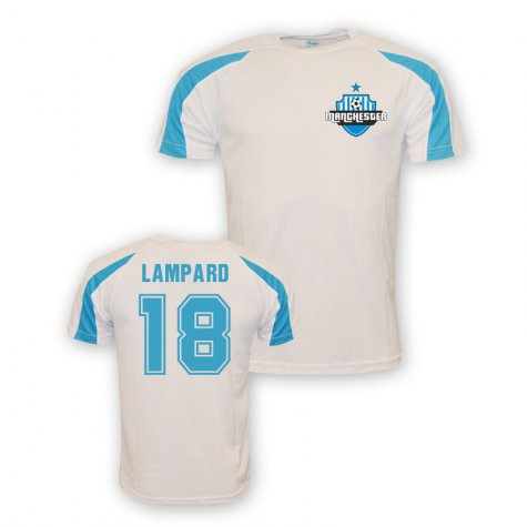 Frank Lampard Man City Sports Training Jersey (white)