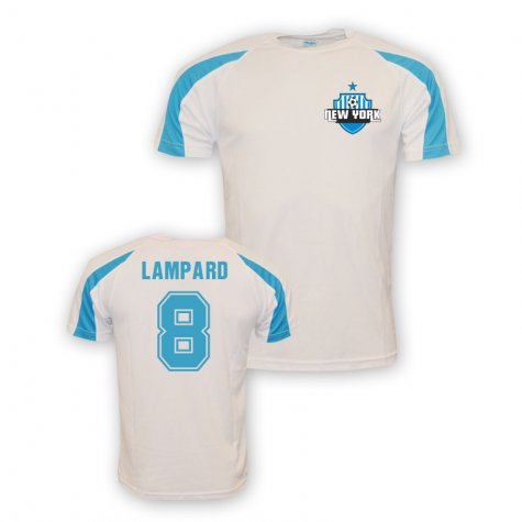 Frank Lampard New York City Sports Training Jersey (white)