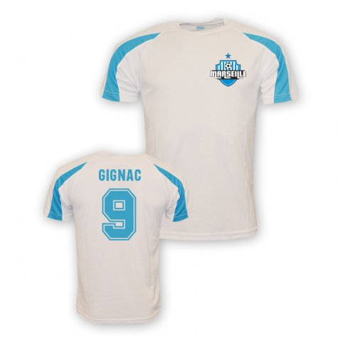 Andre Pierre Gignac Marseille Sports Training Jersey (white) - Kids