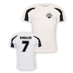 Cristiano Ronaldo Real Madrid Sports Training Jersey (white) - Kids