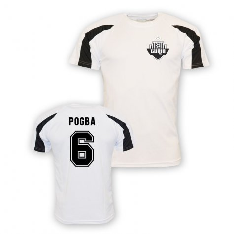 Paul Pogba Juventus Sports Training Jersey (white)