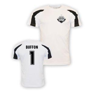 Gigi Buffon Juventus Sports Training Jersey (white)