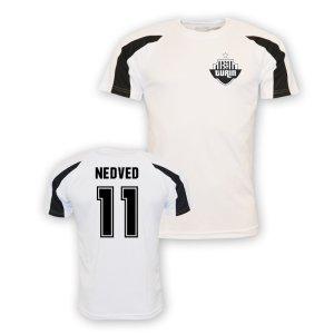 Pavel Nedved Juventus Sports Training Jersey (white)
