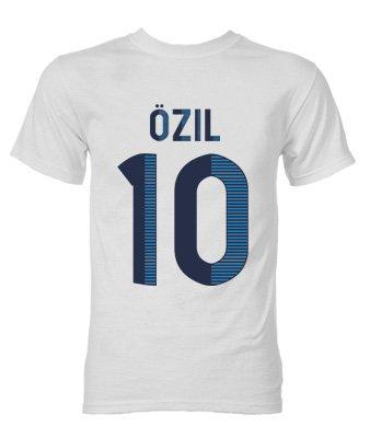 Mesut Ozil Real Madrid Hero T-Shirt (White)