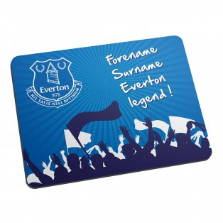 Personalised Everton Legend Mouse Mat