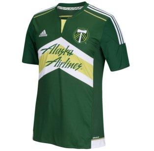 2016 Portland Timbers Adidas Home Football Shirt