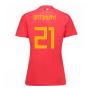 2018-19 Belgium Home Womens Shirt (Batshuayi 21)