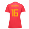 2018-19 Belgium Home Womens Shirt (Tielemans 16)