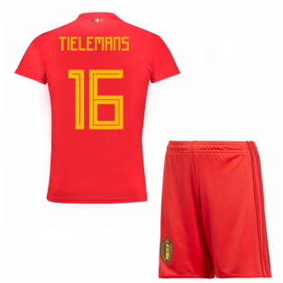 2018-19 Belgium Home Mini Kit (Tielemans 16)