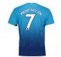 2017-2018 Arsenal Away Shirt (Mkhitaryan 7) - Kids