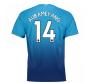 2017-2018 Arsenal Away Shirt (Aubameyang 14)