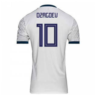 2018-2019 Russia Away Adidas Football Shirt (Dzagoev 10) - Kids