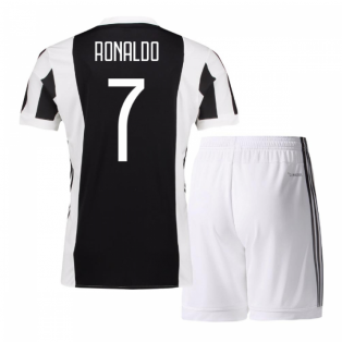 finest selection a4b3a fae0c 2017-18 Juventus Home Mini Kit (Ronaldo 7)