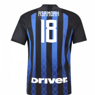 2018-19 Inter Milan Home Football Shirt (Asamoah 18) - Kids