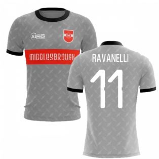 2019-2020 Middlesbrough Away Concept Football Shirt (Ravanelli 11)
