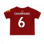 2019-2020 Liverpool Home Little Boys Mini Kit (Champions 6)