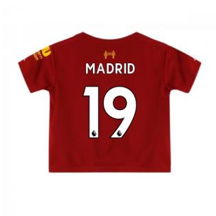 2019-2020 Liverpool Home Little Boys Mini Kit (Madrid 19)